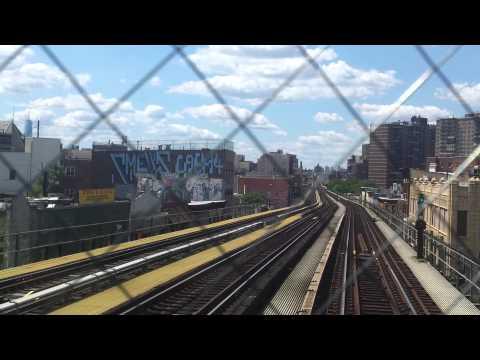 NYC Subway Special: R1-R9 M train RFW from Metropolitan Av to Essex St