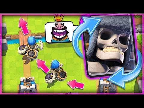 WATCH THIS Giant Skeleton Cycle Deck • Clash Royale!!