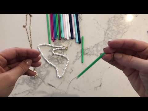 Travel Hack: Jewelry & Plastic Straws