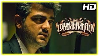 Ajith plans the robbery | Mankatha Tamil Movie | Premgi | Vaibhav | Mahat | Trisha | Arjun