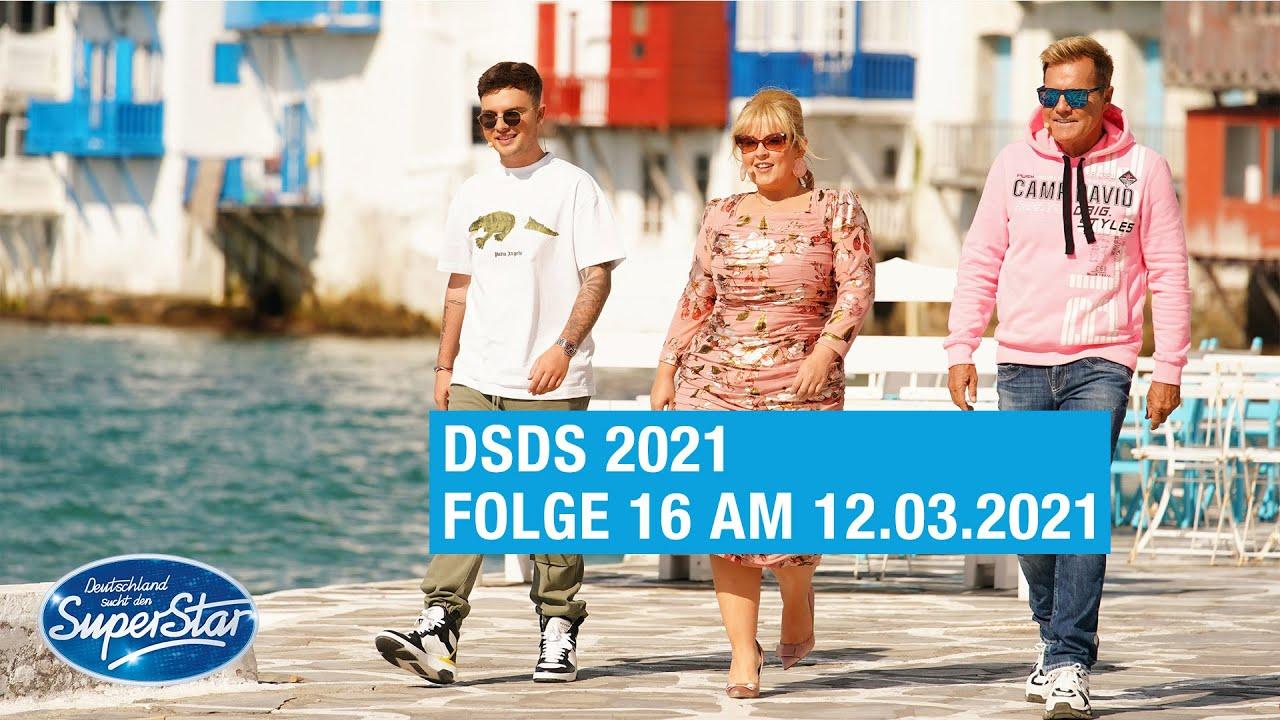 Dsds 2021 Folge 16 Am 12 03 2021 Bei Rtl Und Online Auf Tvnow Youtube