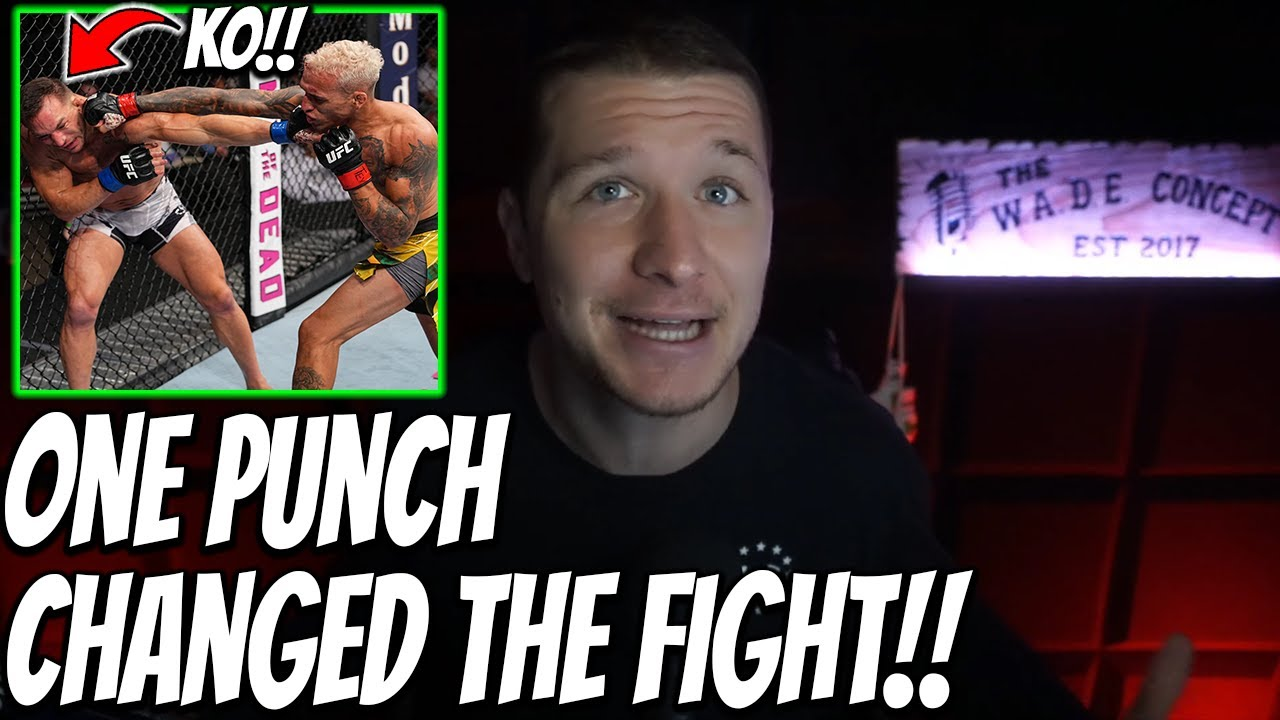 How Charles Oliveira *KO'D* Michael Chandler.. A Tale of 2 Rounds l #UFC262 Breakdown