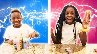 Twin Telepathy Challenge are we twins (Panton Kids)