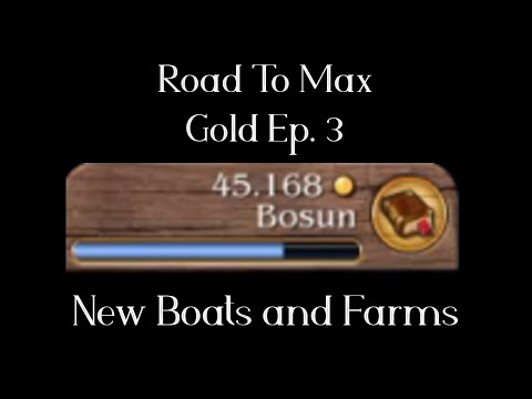 [Timelapse] Port Royale 3 Ep3 - The Road to Max Gold Begins |