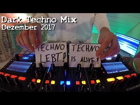 DARK TECHNO ( Underground ) Mix December 2017