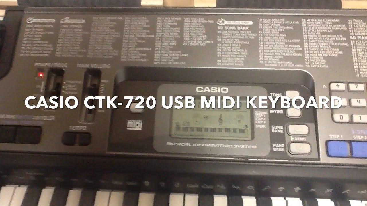 Casio Digital Keyboard/Piano USB MIDI Drivers for Windows Mac