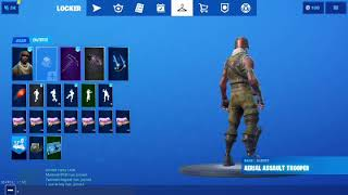 Fortnite Aerial assault trooper account for sale! ( purple skull trooper)