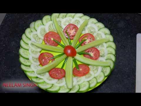 Salad Decoration Ideas 🍅 🍅 8 BY Neelam ki recipe