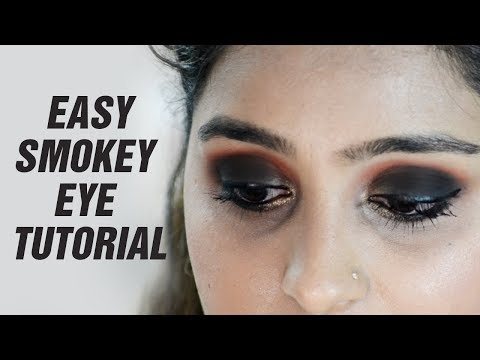 Smouldering Smokey Eye Tutorial | Easy Tips and Tricks | For Beginners