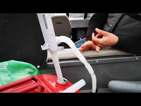 Тест электрической помпы BERKUT SMART POWER SP-410EP