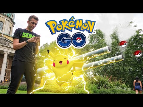 I FINALLY GOT ONE!! POKEMON GO #5