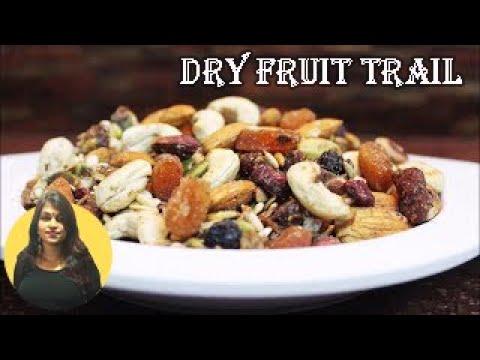 Dry Fruit Trail Mix || Kavita Gandhi