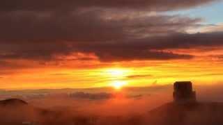 日本人が見たい風景 ハワイ島 マウナ・ケア山から見る夕日❖日本通TV