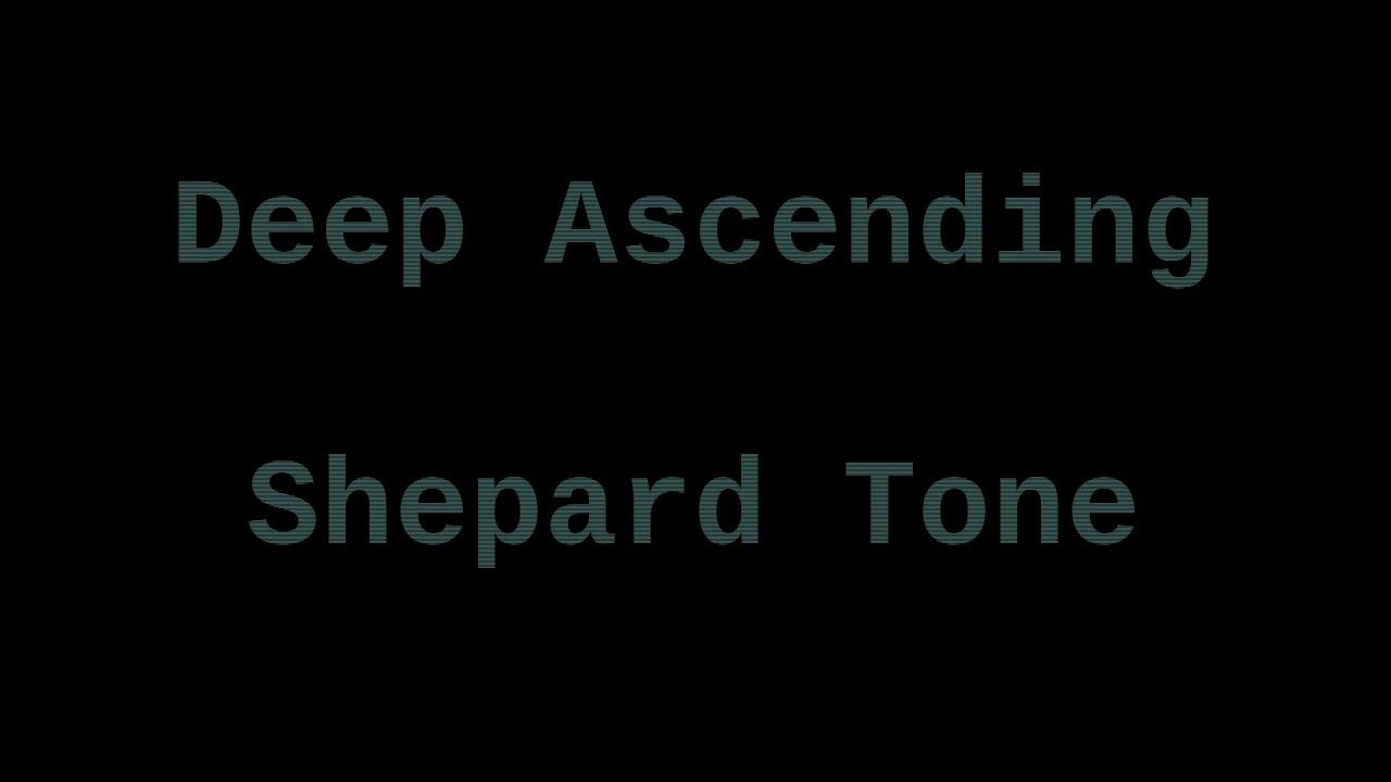 Deep Ascending Shepard Tone ( 1 Hour ) - YouTube  Deep Ascending ...