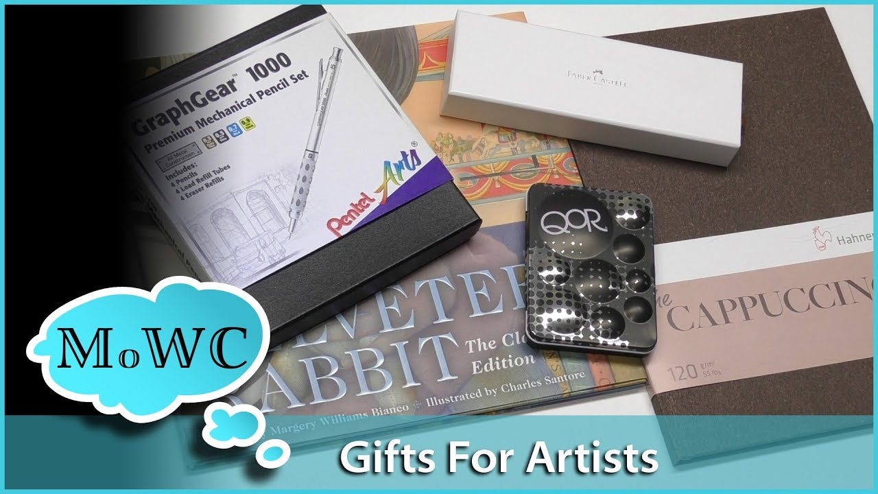 Unique Gift Ideas For Artists And Watercolorists Youtube