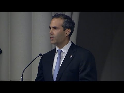 George H.W. Bushs grandson, George Prescott Bush, gives eulogy at funeral in Houston