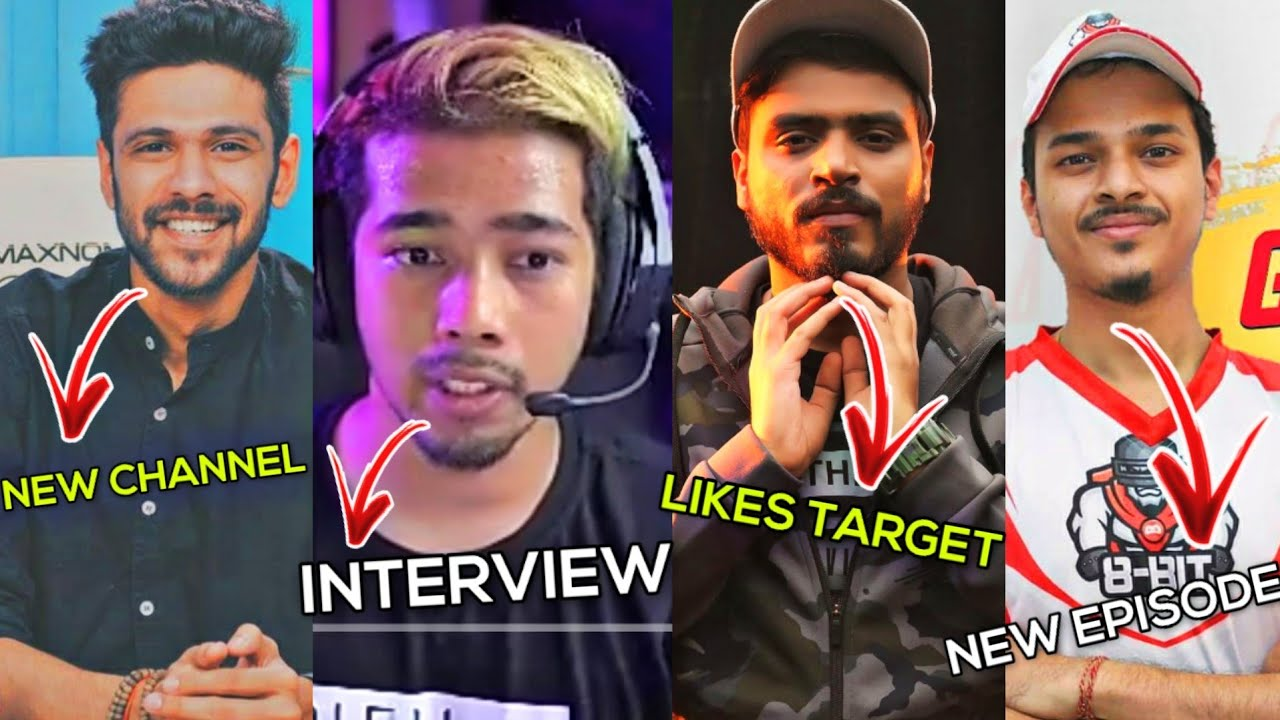 OcenSharma New Channel|Scout Interview|AmitBadana Likes Target|DeadKiller Gamming