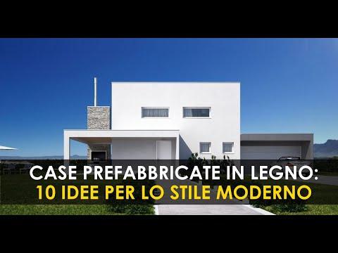 Una casa prefabbricata in legno che sia tua al 100%, dentro e fuori. 10 Modelli Di Case In Legno In Stile Moderno Immobilgreen Youtube
