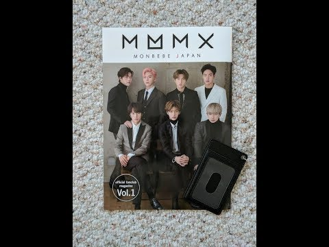 [Unboxing] Monsta X - Japanese Fanclub Magazine + Card Case (Volume 1)