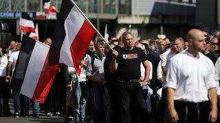 German neo-Nazis rally to mark death of Rudolf Hess thumbnail