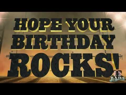 Hope Your Birthday Rocks Starring Kevin YouTube