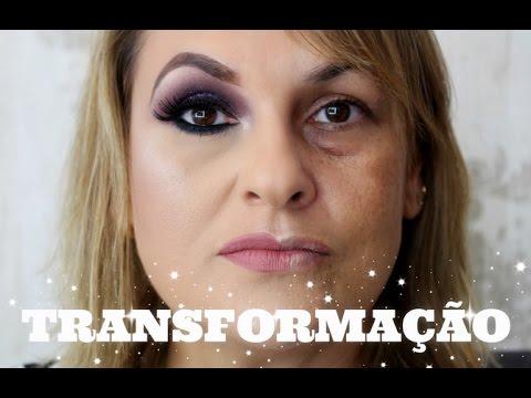 Make Para Mulheres Acima De 40 Anos Maquiando Cliente