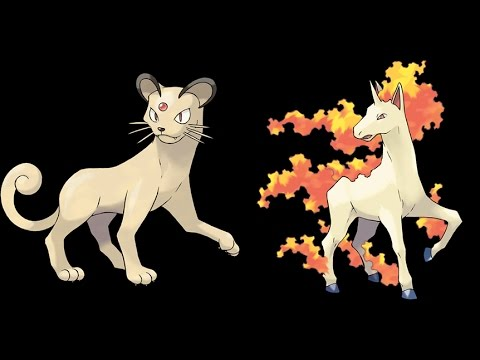 Pokemon gold silver all evolution pokemons persian and - Evolution pokemon argent ...