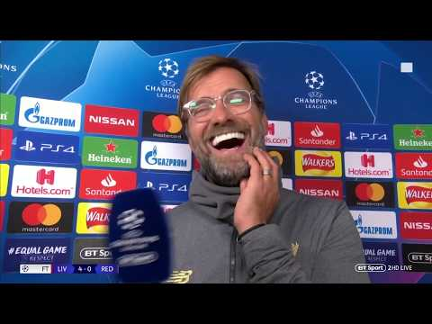 Jurgen Klopp's praises Shaqiri, Fabinho and reacts to Liverpool 4-0 Red Star | Post-match interview