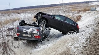 Подборка ДТП Январь 2015 ➊➎➍ Compilation of accidents January 2015(, 2015-01-13T13:46:11.000Z)