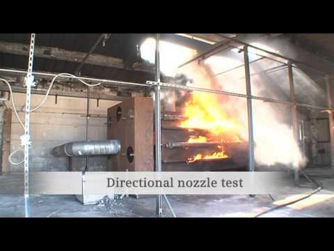 Siemens - SINORIX H2O Jet - water mist - fire extinguishing system