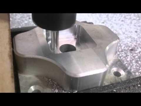 DIY CNC milling aluminium