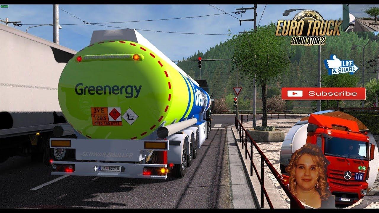 Euro Truck Simulator 2 (1 32) Fuel Cistern 1 32 x by TZ Rommi + DLC's & Mods