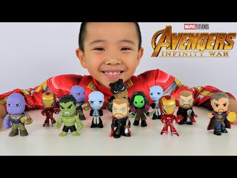 Surprise Mystery Minis Avengers Infinity War Full Box Toys Opening Fun With CKN Toys
