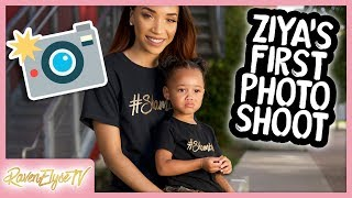 Ziya's FIRST PHOTOSHOOT...FAIL?! | MOM VLOG
