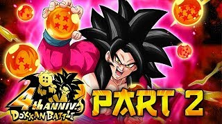 EVERYTHING YOU NEED TO KNOW ABOUT PART 2 OF GLOBAL'S 4 YEAR ANNIVERSARY! (DBZ: Dokkan Battle)