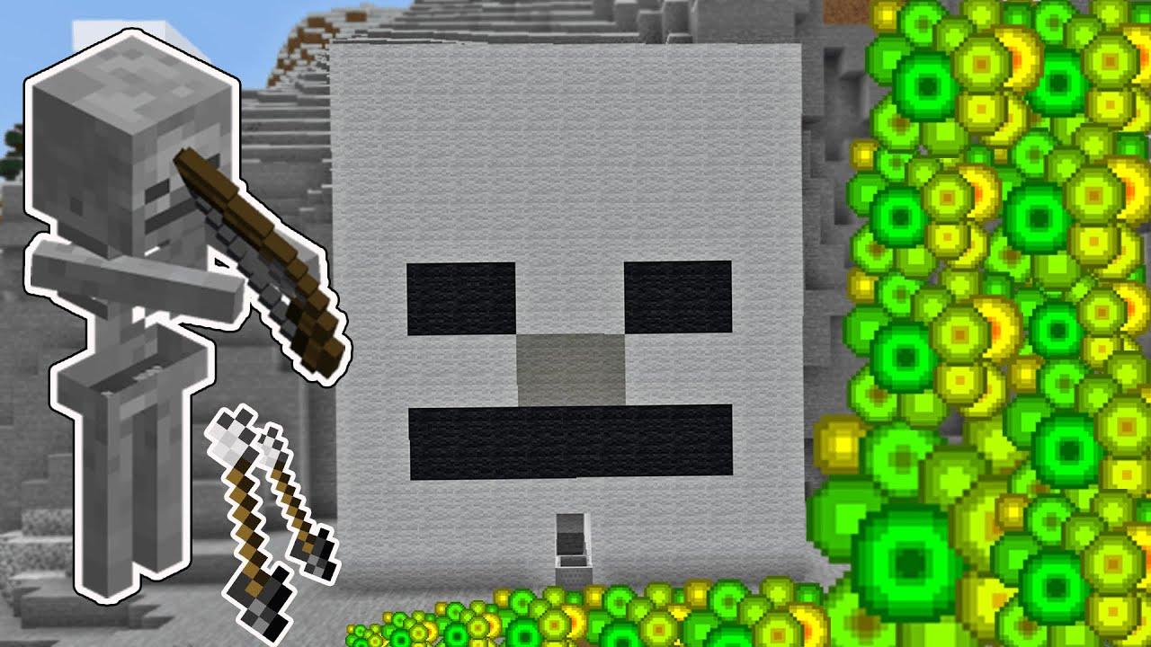 En Güncel İskelet Farmı ( Sınırsız Kemik ve XP ) | Minecraft #28