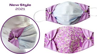 2021 New Style Face Mask DIY Disposable Face Mask Cover Easy Tutorial