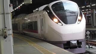 常磐線E657系特急ひたち13号仙台行品川駅発車※警笛&発車メロディーあり
