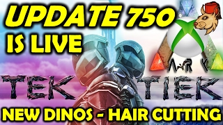 Ark Survival Evolved Xbox One Update 750 Is Live – Tek Tier Pixel Painting Hair Customization