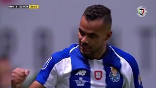 Goal   Golo Fernando Andrade: Benfica 1-(3) FC Porto (Allianz Cup 18/19 1/2 final)