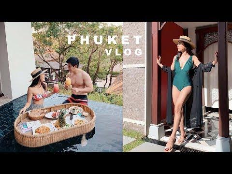 PHUKET VLOG:: พักหรูอยู่ Pool Villa ฉลองครบรอบ 5 ปี (ENG) | WEARTOWORKSTYLE