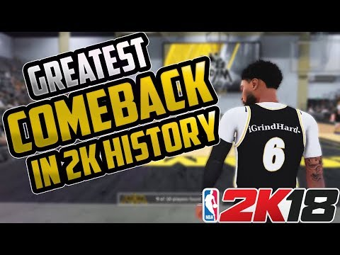 NBA 2K18 GREATEST OVERTIME COMBACK IN 2K PRO-AM HISTORY MUST SEE!!!