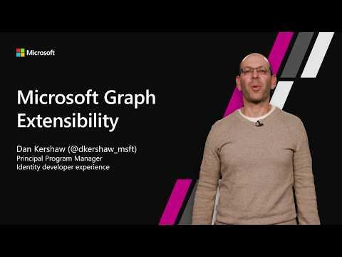 Microsoft Graph extensibility