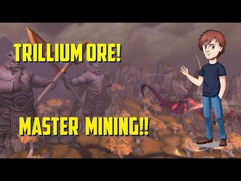 WoW | Trillium Ore | Master Mining!