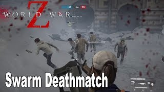 World War Z - Swarm Deathmatch on General State Mall Multiplayer Gameplay [HD 1080P]