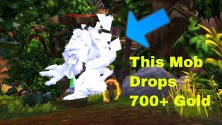 Mobs Drop 3000 Gold In Legacy Raid, bug?