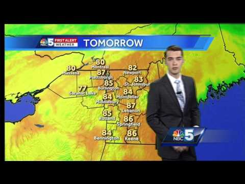 Video: Humid, stormy Friday (6-22-17)