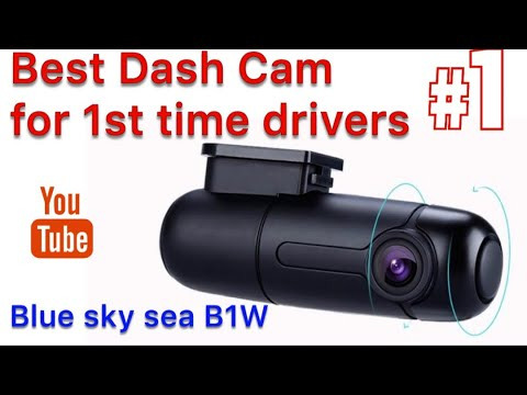 A DASH CAM For First Time Drivers & Young People BLUESKYSEA B1W WIFI MINI Dash Cam