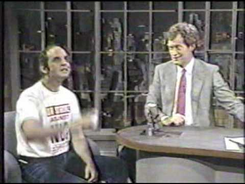 Harvey Pekar on Letterman, 7/31/87
