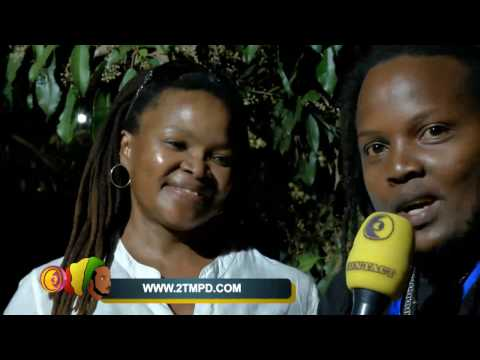 Reggae vibes Rwanda- with TK Dube(son of Lucky Dube) and Lenah Mochuele(manager)
